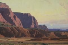 Cliffs at Twilight 24x30