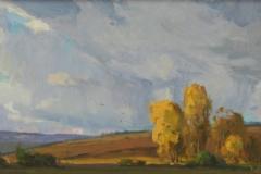 Autumn Skies 16x20
