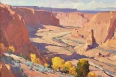 Cottonwood Canyon 18 x 24