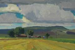 Rain and Grain 9x18